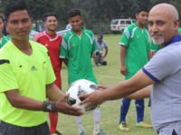 Inauguration by club Chairperson Ravi Rimal